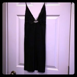 Victoria's Secret lace and satin nightgown